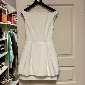 Keepsake off-white dress.